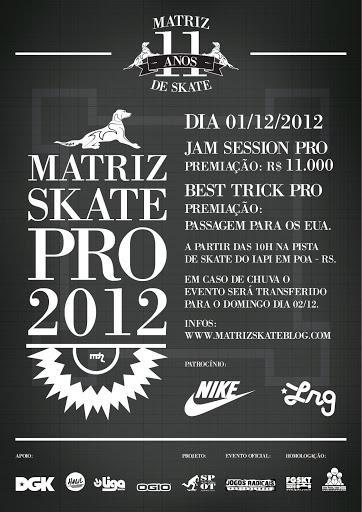 ce5a102f905b5 Matriz Skate Pro!